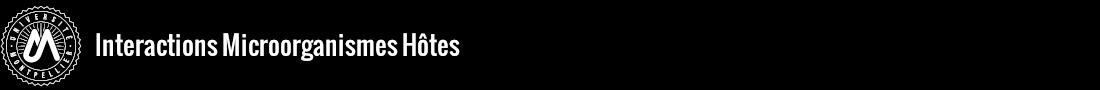 Interactions Microorganismes Hôtes Logo